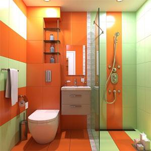 Une-salle-de-bain-à-l'italienne